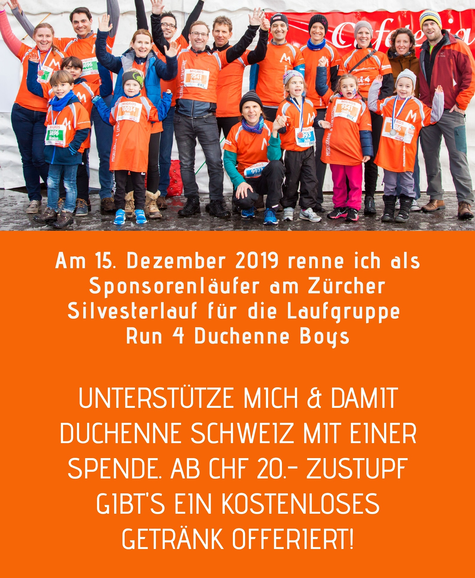 Run 4 Duchenne Boys Flyer