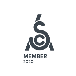 SCA Member Logo 2020 White