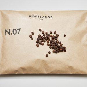 Röstlabor Kaffebohnen N.07 Nicaragua Brasilien Indonesien