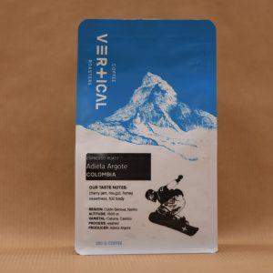 Vertical Coffee Roasters Kaffeebohnen Kolumbien Adiela Argote Front