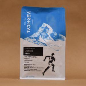Vertical Coffee Roasters Kaffeebohnen Brasilien Diamond Front